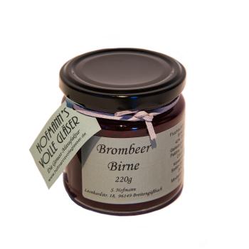 Brombeer Birne Fruchtaufstrich